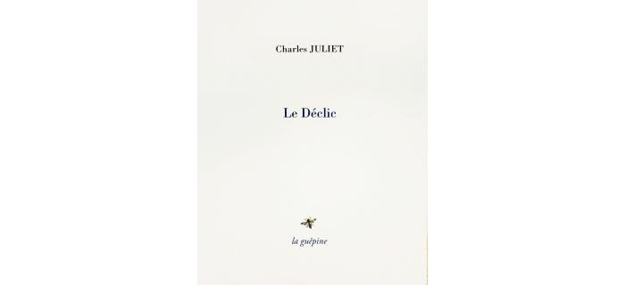 <strong>Charles Juliet,</strong><i> Le Déclic</i>