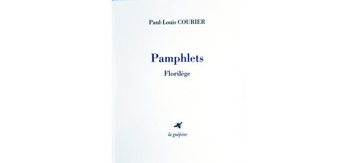 <p><strong>Paul-Louis COURIER</strong>, <em>Pamphlets</em></p>