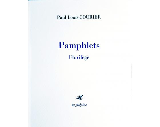 Paul-Louis COURIER, Pamphlets.jpg